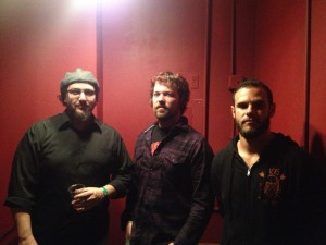 Joe Brooks aka Tommy Prospect (bass), Jared Mullins (guitars/vocals), and Michael Amster (drums).